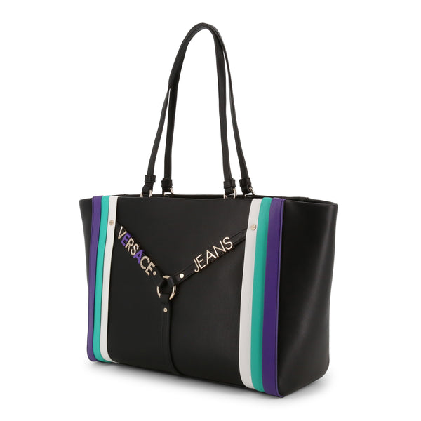 Multicolor Versace Jeans Shopping Bag