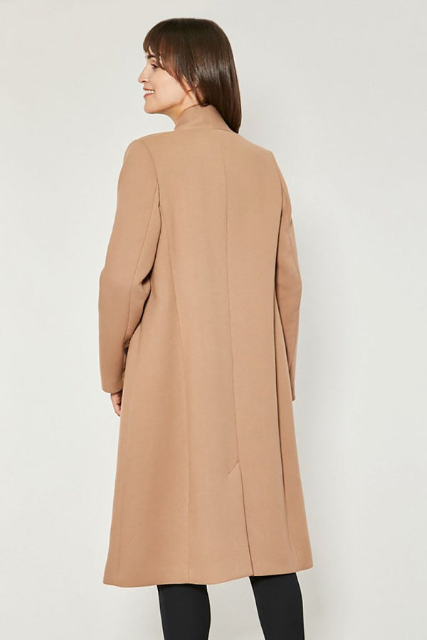 Beira Brown Coat by Click Fashion