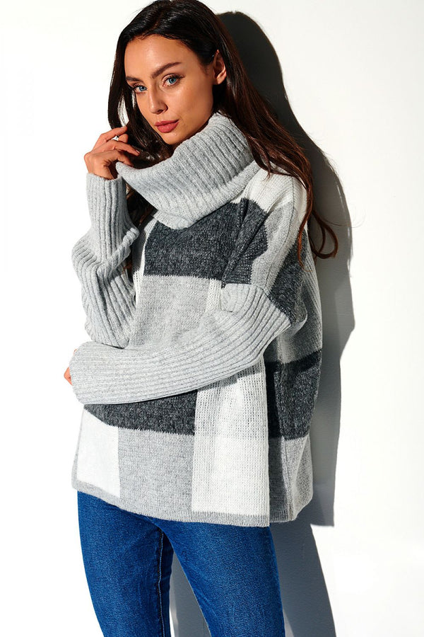 Lemoniade Oversize Turtleneck Sweater
