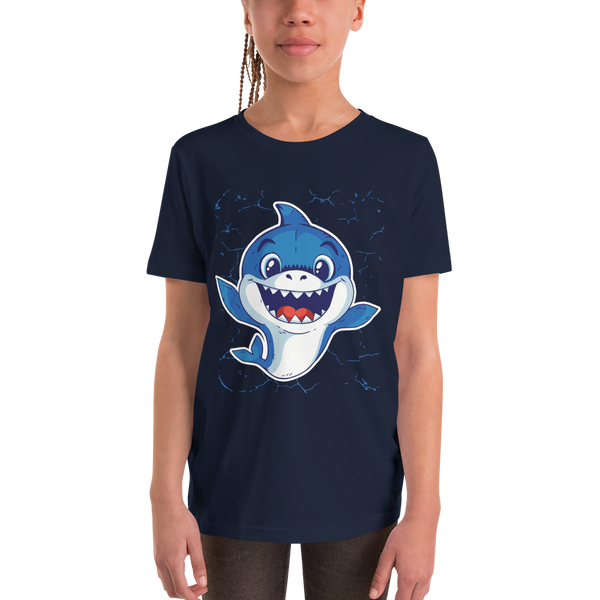 Baby Shark Youth Short Sleeve T-Shirt - KiS and Plush