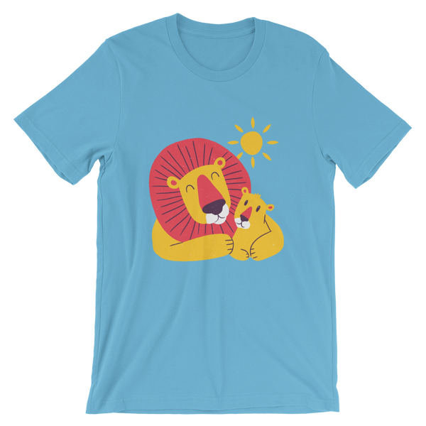 Lion Dad Son Short-Sleeve Unisex T-Shirt - KiS and Plush