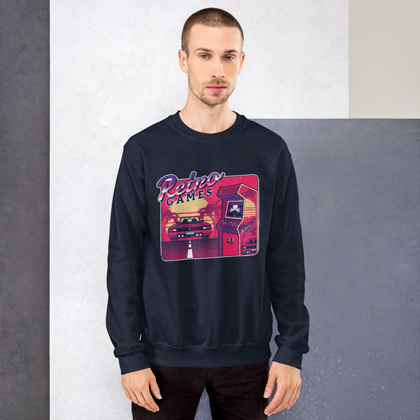 Retro Gaming Chillout Sweater - KiS and Plush