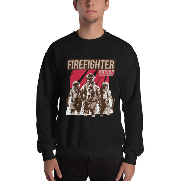 Fire Fighter Squad Unisex Sweatshirt - KiS and Plush
