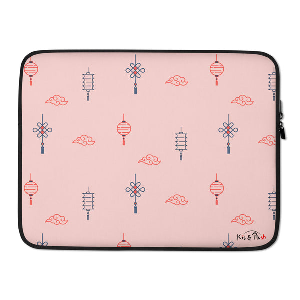 Classic Chinese Lantern Premium Laptop Sleeve - KiS and Plush