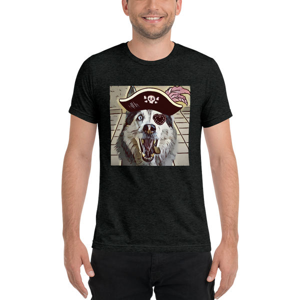 Pirate Short sleeve t-shirt - KiS and Plush