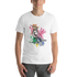 Watercolor Kingfisher Short-Sleeve Unisex T-Shirt - KiS and Plush