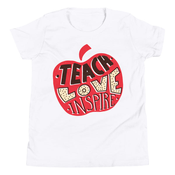 Teach Love Inspire Classic T-Shirt - KiS and Plush