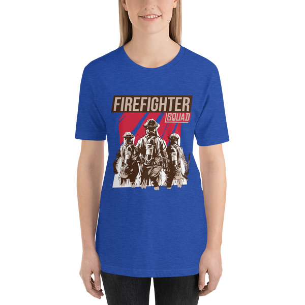 Fire Fighter Squad Short-Sleeve Unisex T-Shirt - KiS and Plush