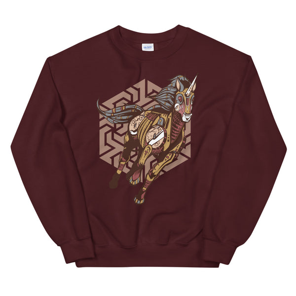 Tribal Unicorn Classic Sweater - KiS and Plush