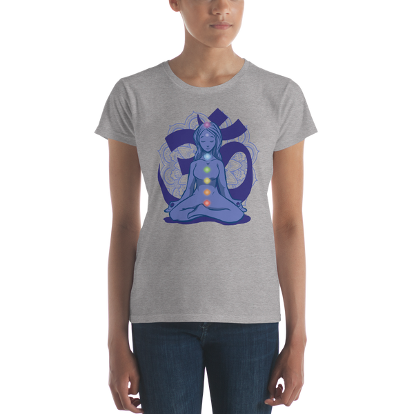Chakras Women's short sleeve t-shirt - KiS and Plush