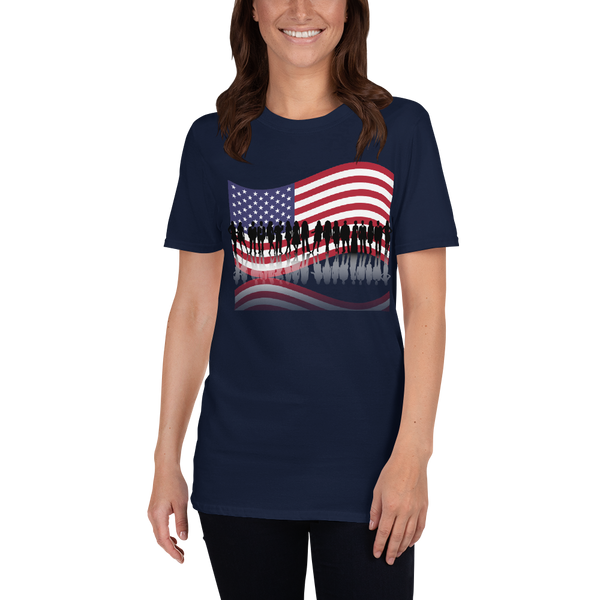USA Short-Sleeve Unisex T-Shirt - KiS and Plush