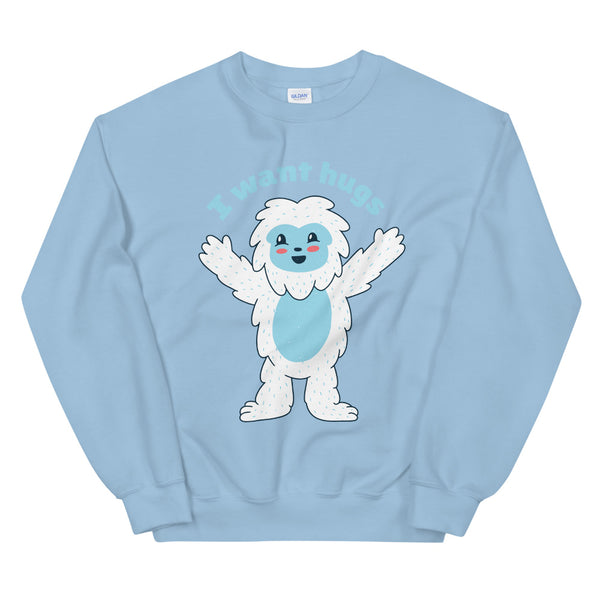 I Want Hug Unisex Sweater - KiS and Plush