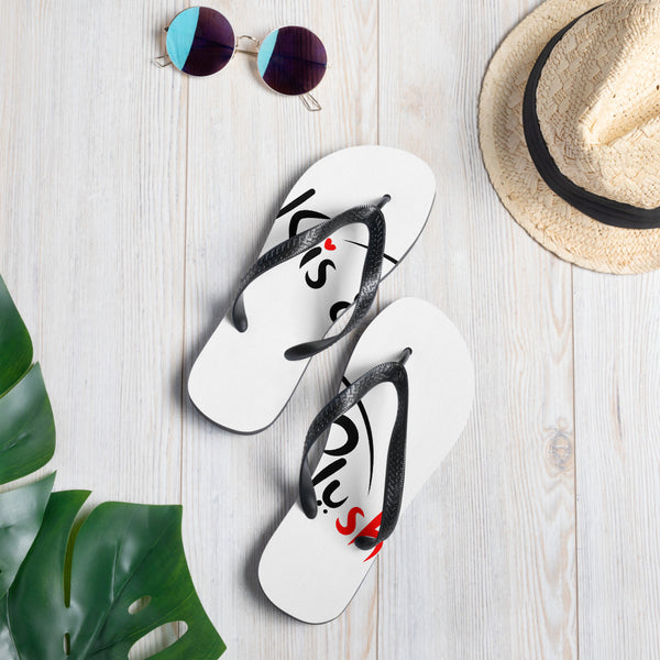 Kis and Plush Flip Flops - KiS and Plush