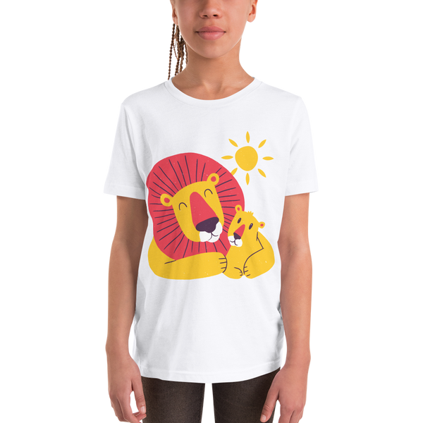 Lion Dad Son Youth Short Sleeve T-Shirt - KiS and Plush