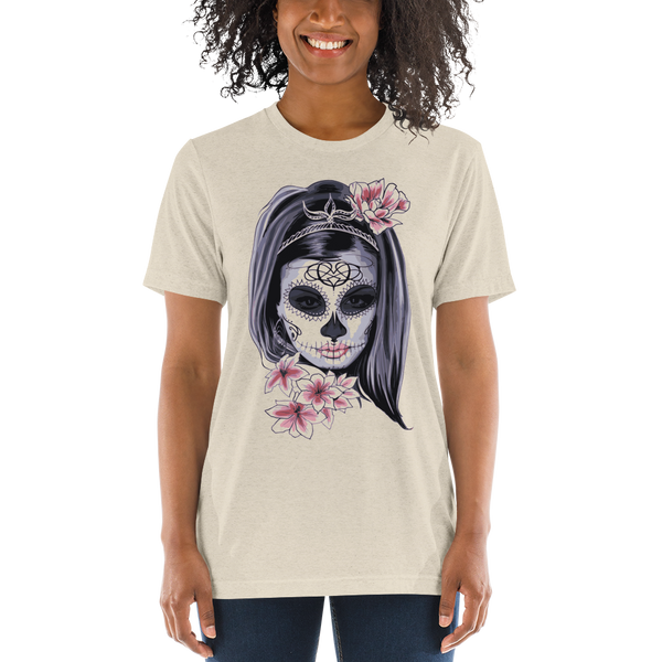 Mask Carnival Horror Short sleeve Women t-shirt - KiS and Plush