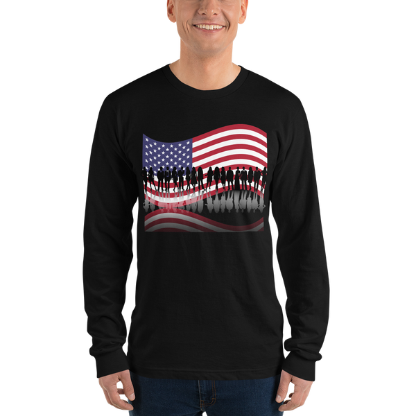 USA Long sleeve t-shirt - KiS and Plush