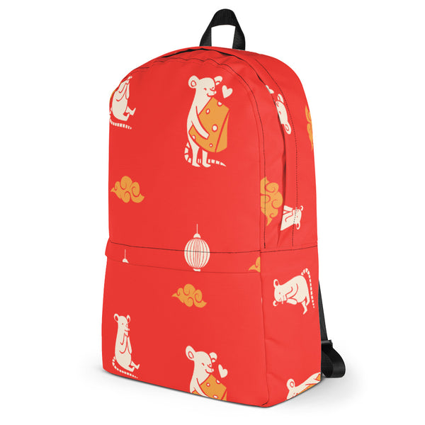 Premium Chinese Rat Zodiac Hologram Backpack - KiS and Plush