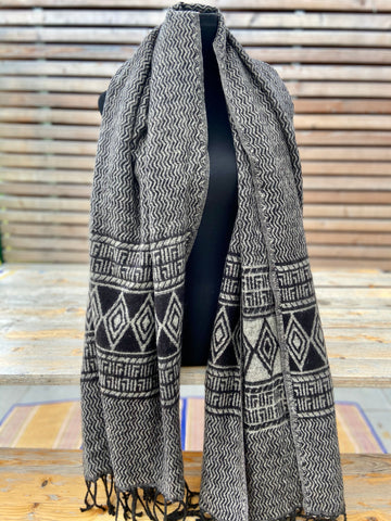 boho shawl (reversible) (++ color options)