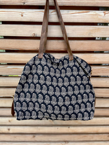 beachbag paisely pattern  (++ color options)