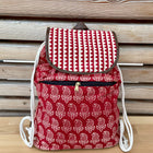 backpack slingbag paisley