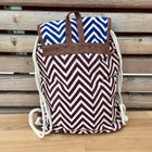 backpack slingbag wave pattern