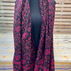 Tusha boho shawl (reversible in jaal pattern)-4