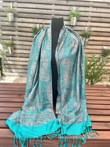 Reversible / two-sided soft shawl