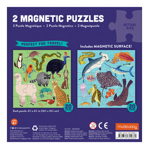 Magnetic Puzzle - Land and Sea
