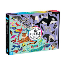 Load image into Gallery viewer, Mudpuppy 100 Piece Double Sided Animal Kingdom Puzzle