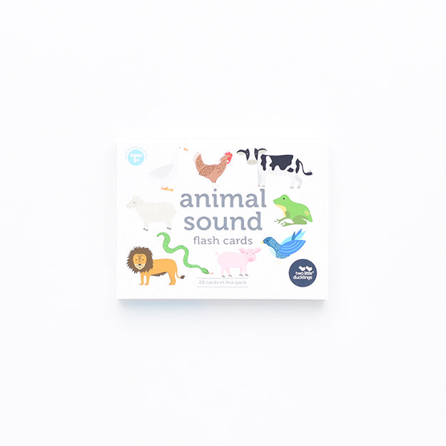 Two Little Ducklings - Animal Sounds Flash Cards