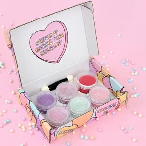 Oh Flossy - Candy Heart Natural Makeup Set