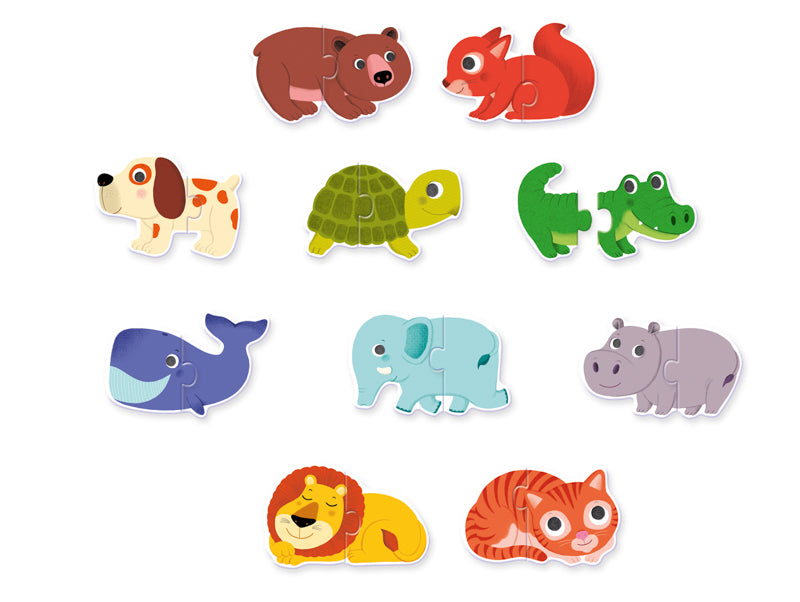 Djeco Duo Animals Puzzle