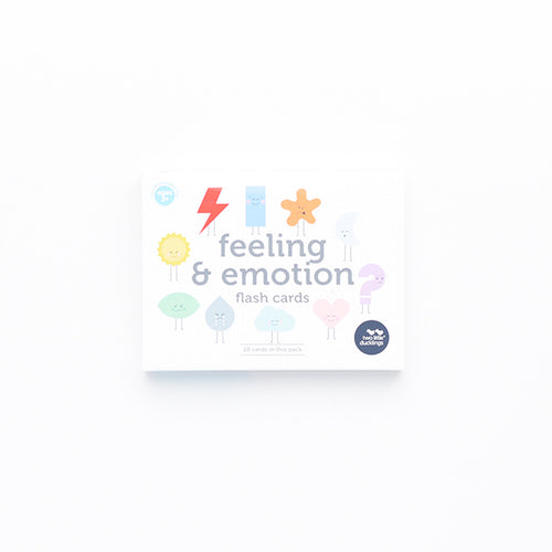 Two Little Ducklings - Feelings and Emotions Flash Cards