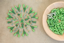 Load image into Gallery viewer, Grapat Mandala - Little Green Cones