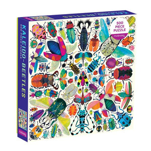 Mudpuppy - Kaleido-Beetles 500 Piece Puzzle