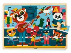Music Wooden Puzzle - Djeco