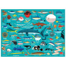Load image into Gallery viewer, Mudpuppy - Ocean Life 1000 Piece Puzzle