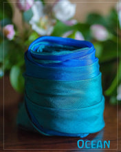 Load image into Gallery viewer, Sarah's Silks Enchanted Earth Playsilks - Ocean
