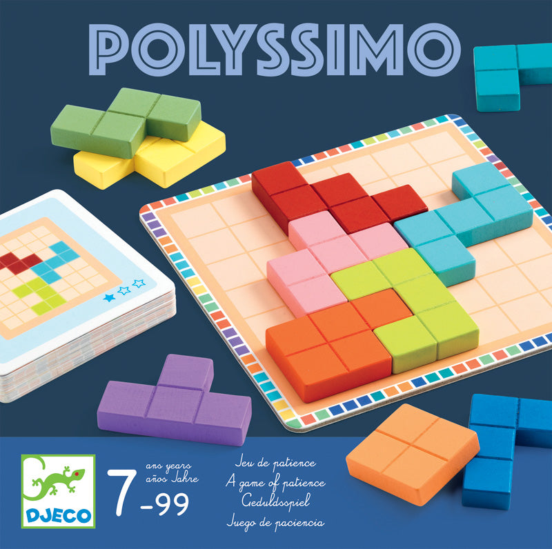 Polyssimo Tactic Brain Teaser Game - Djeco