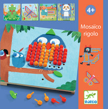 Load image into Gallery viewer, Mosaico Rigola Peg Board - Djeco