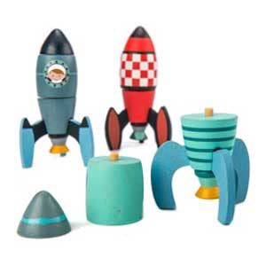 Rocket Construction - Tender Leaf Toys