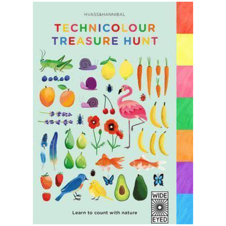 Technicolour Treasure Hunt