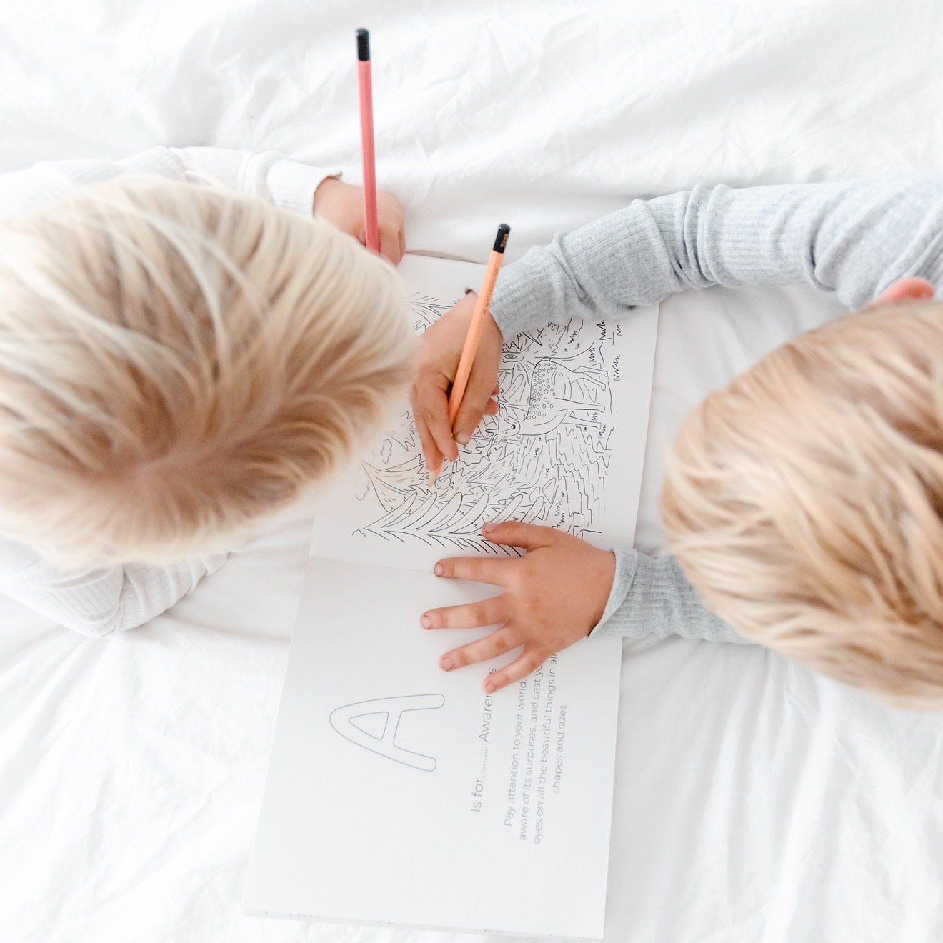 ABC's of Mindfulness Colouring Book