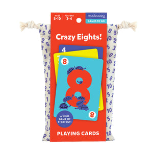 Mudpuppy Playing Cards – Crazy Eights