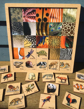 Load image into Gallery viewer, Matching Animal Skin Puzzle