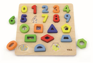 Numbers and Shapes Block Puzzle