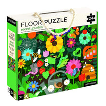 Load image into Gallery viewer, Petit Collage Floor Puzzle - Secret Garden