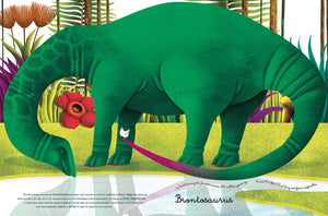 Big Book of Giant Dinosaurs, The Small Book of Tiny Dinosaurs - Francesca Cosanti