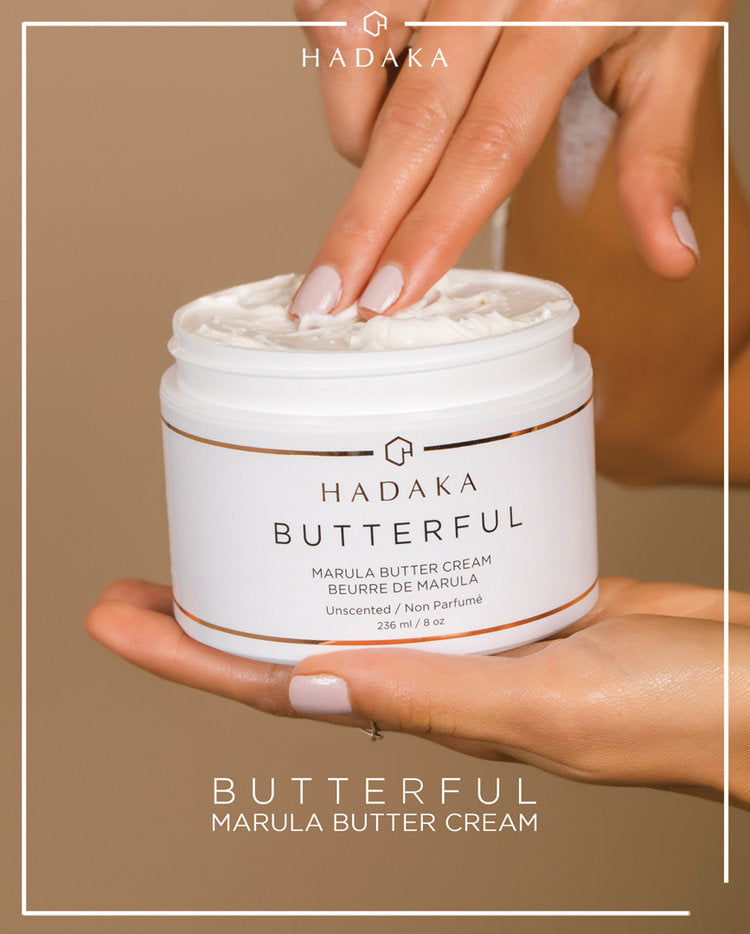 BUTTERFUL Marula Body Butter Unscented 8oz