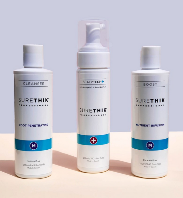 Sure Thik : 3 Step System For Thinning Hair Revitalizing for Men